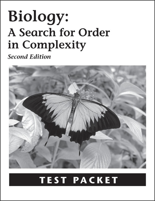 Biology: A Search for Order in Complexity, 2nd edition - Test Packet