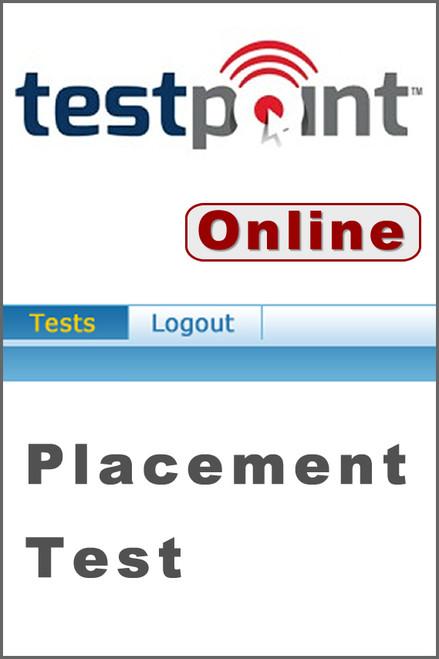 Testpoint Placement Testing Service - Online