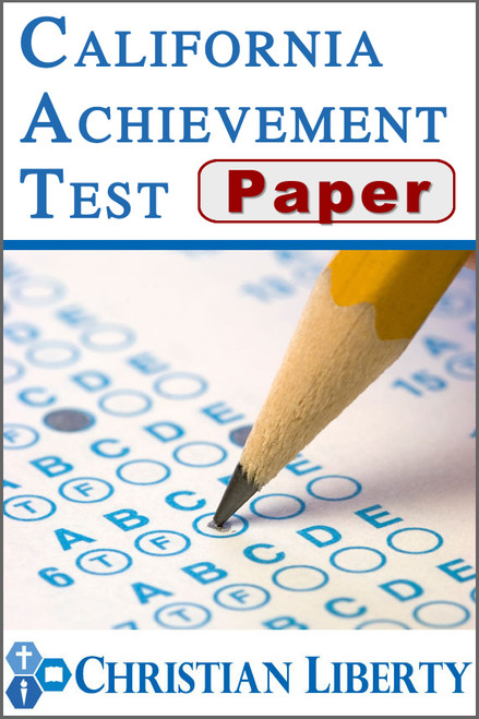 California Achievement Test - Paper version