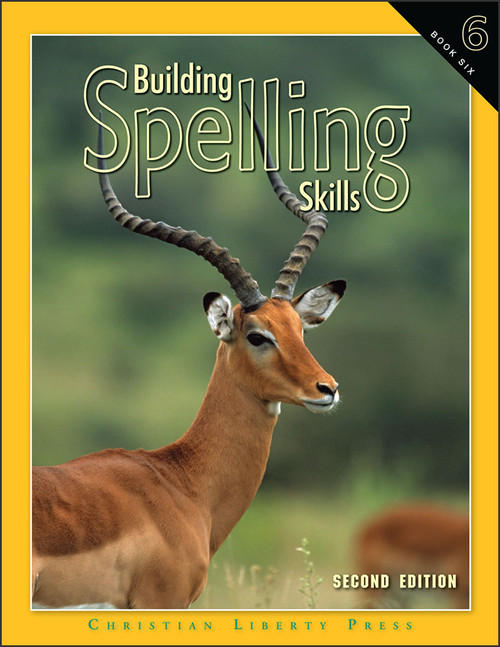 Building Spelling Skills: Book 6, 2nd edition