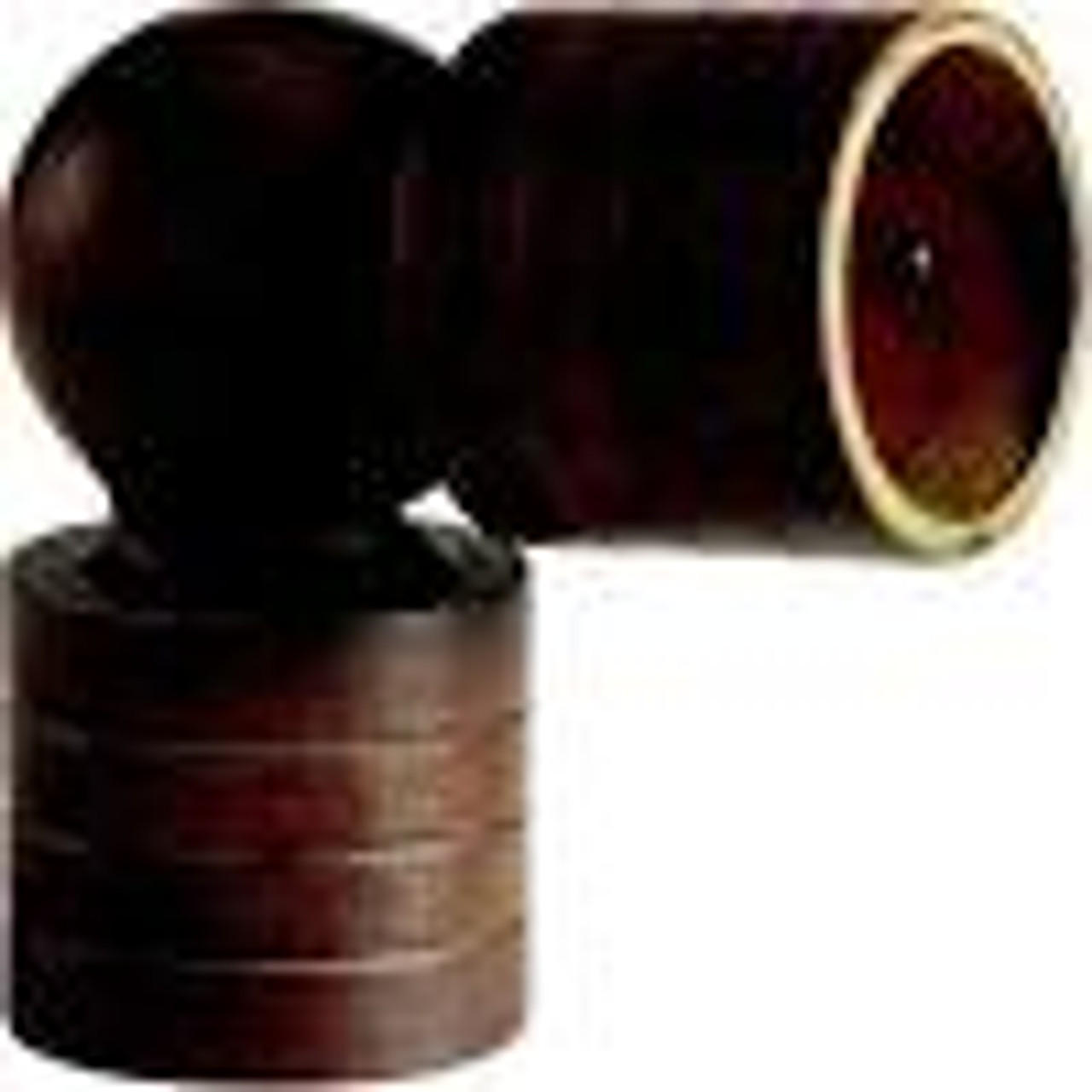 """Kirsch #5606E 1-3/8"""" Wood Trends Swivel Socket - Sold individually - Available in variety of finishes"""