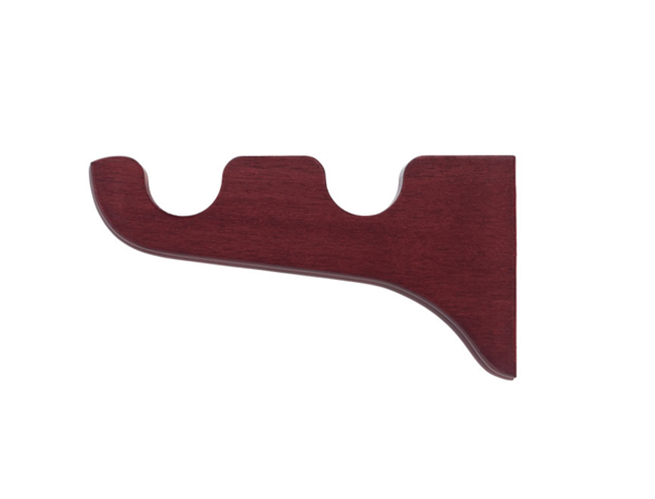 """Kirsch Wood Trends Double bracket for use with 1 3/8"""" diameter poles"""