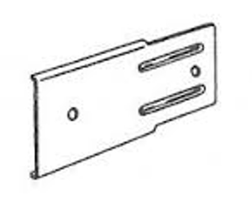 "Kirsch 2"" Superfine Extension Plate for Push-in Bracket #3980025 - Sold as Pairs"