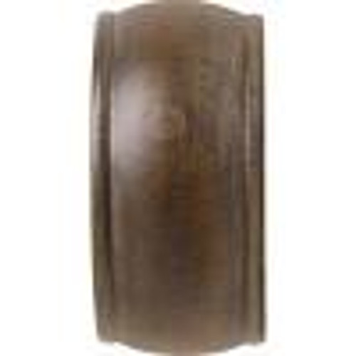 "Kirsch Wood End Cap Wood Trends Classics Each for use with  2"" diameter wood poles"