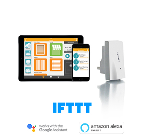 Somfy MyLink #1811403 Control your window coverings with a smartphone, tablet or simple voice commands.