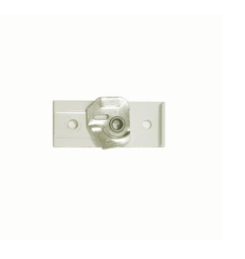 Kirsch #94140025 White Superfine & Architrac Series Ceiling Bracket - sold individually