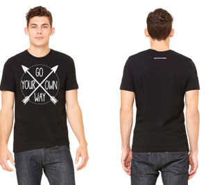 Go Your Own Way Jersey Cotton Tee