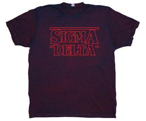 Sigma Delta Unisex Slim Fit Acid Wash Tee