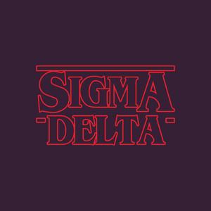 Sigma Delta Stranger Things Sticker