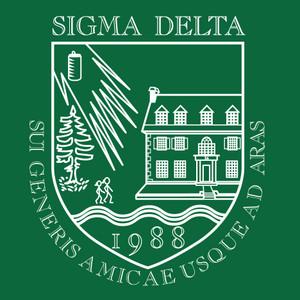 Sigma Delta Crest Sticker