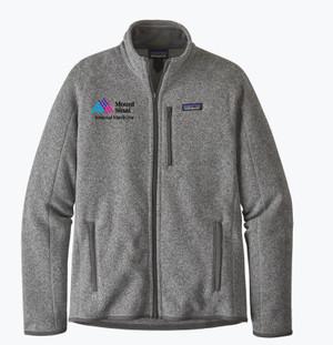 Mount Sinai Men's Patagonia Better Sweater Fleece Jacket