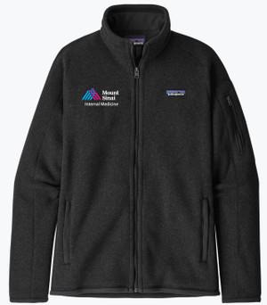 Mount Sinai Ladies Patagonia Better Sweater Fleece Jacket