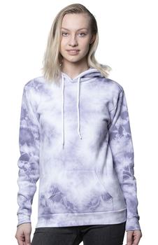Tie Dye Purple Haze Cloud Hoodie