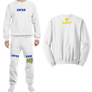 ZTA Shadowhill White Sweatsuit