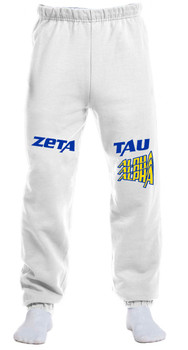 ZTA Shadowhill White Sweatpants