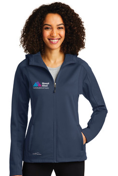 Mount Sinai Oral & Maxillofacial Surgery Eddie Bauer Ladies Hooded Soft Shell Jacket