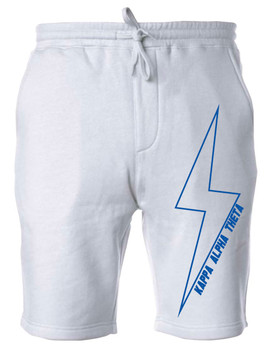Theta Lightning Bolt Sweat Shorts