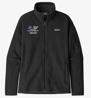 Mount Sinai Institute for Critical Care Medicine Patagonia Ladies Better Sweater Fleece Jacket