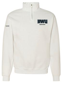 RWU Equestrian Quarter-Zip Sweatshirt