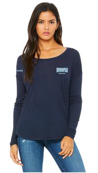 RWU Equestrian Ladies Flowy Long Sleeve