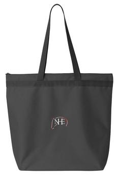 NHE Zippered Tote Bag
