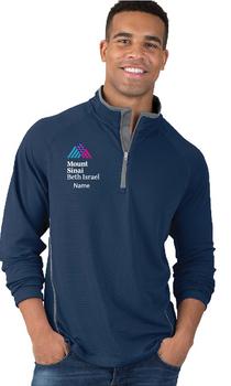 Mount Sinai Beth Israel Charles River Apparel Men's Fusion Quarter Zip