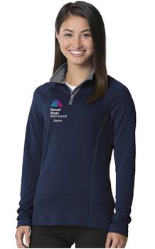 Mount Sinai Beth Israel Charles River Apparel Ladies Fusion Quarter Zip