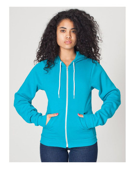 American Apparel Unisex Flex Fleece Zip Hoody