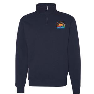 Cadet Collar 1/4 Zip Sweatshirt