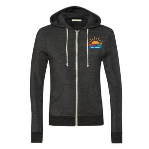 Alternative Rocky Eco-Fleece Hooded Full Zip Sweatshirt