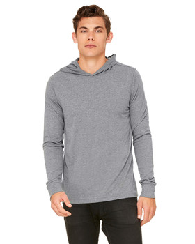 Bella + Canvas Long Sleeve Hooded Pullover