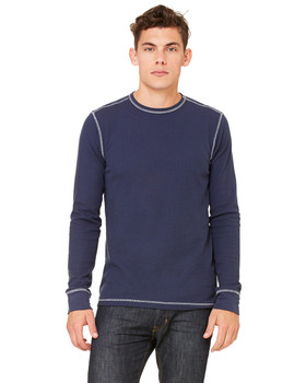 Canvas Men's Thermal Long-Sleeve T-Shirt