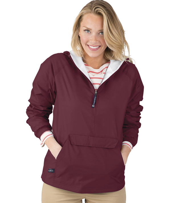 Classic Charles River Solid Pullover Jacket