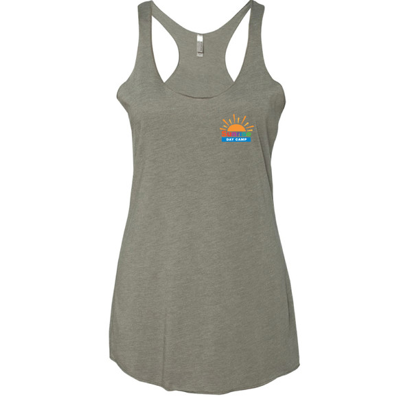 Ladies' Triblend Racerback Workout Tank
