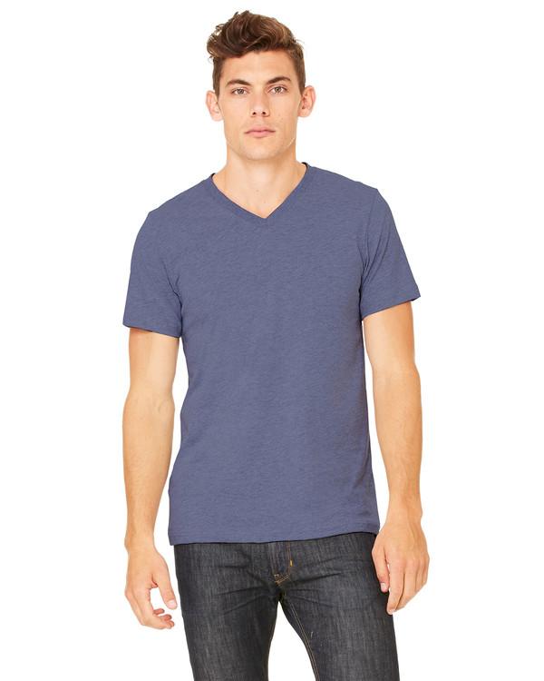 302d3acb Bella + Canvas Unisex Jersey Short-Sleeve V-Neck T-Shirt - Clothes On