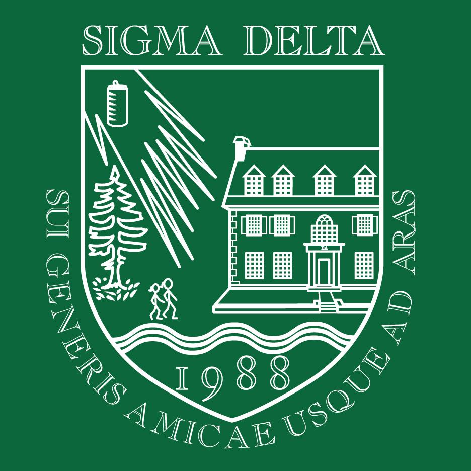 Sigma Delta Crest Twill Hat