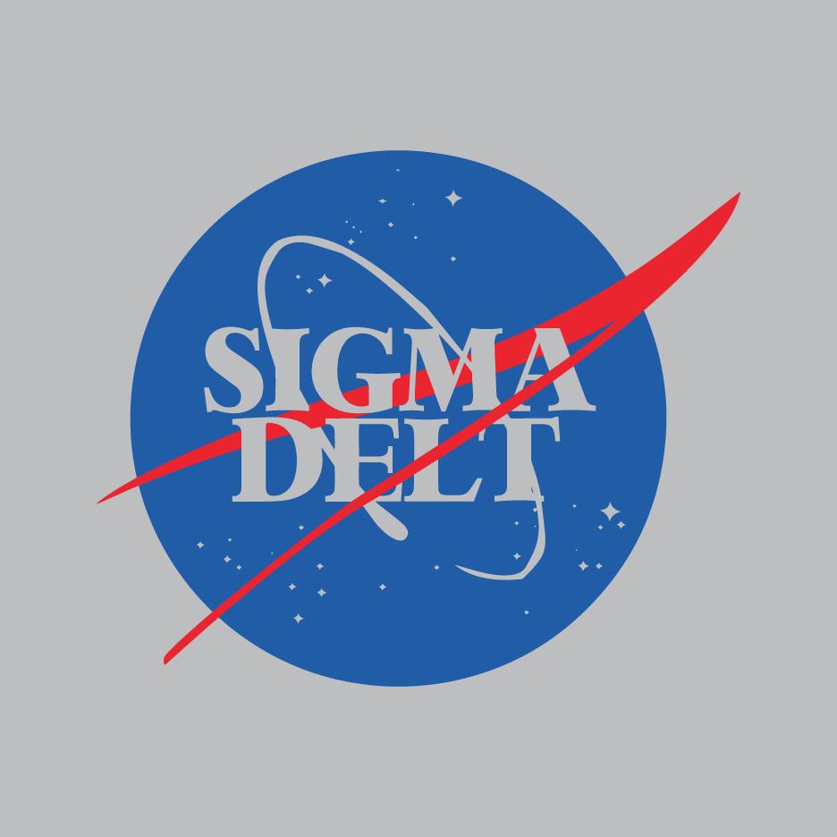Sigma Delta NASA Unisex Crewneck Sweatshirt