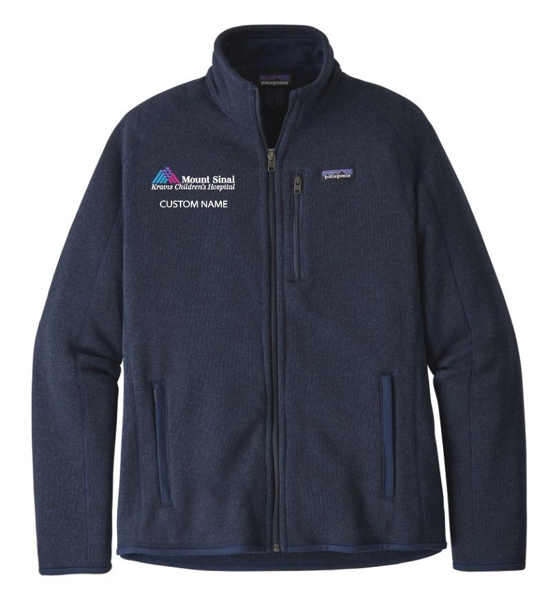 Kravis Children's Hospital Patagonia Men's Better Sweater Fleece Jacket