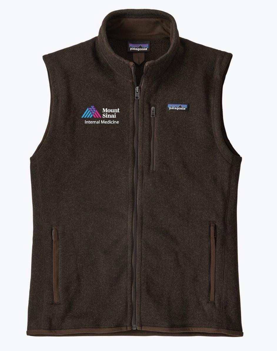 Mount Sinai Men's Patagonia Better Sweater Fleece Vest