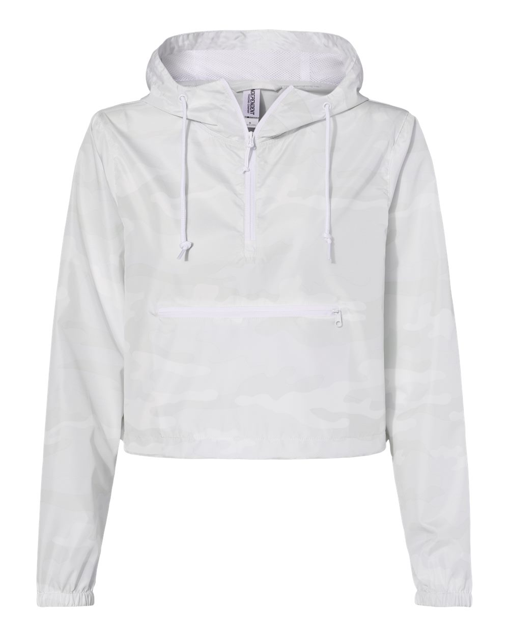 Independent Ladies' Cropped Windbreaker