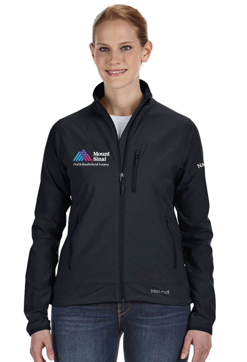 Mount Sinai Oral & Maxillofacial Surgery Marmot Ladies Tempo Jacket