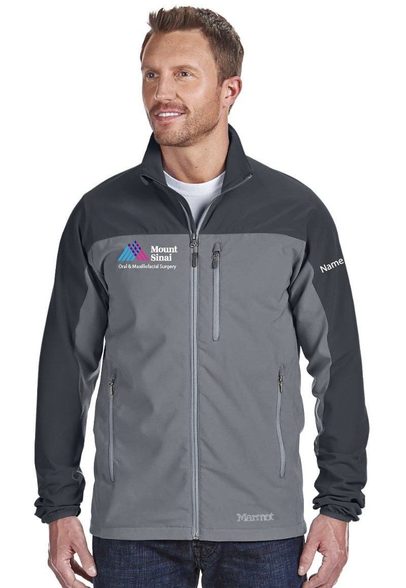 Mount Sinai Oral & Maxillofacial Surgery Marmot Men's Tempo Jacket