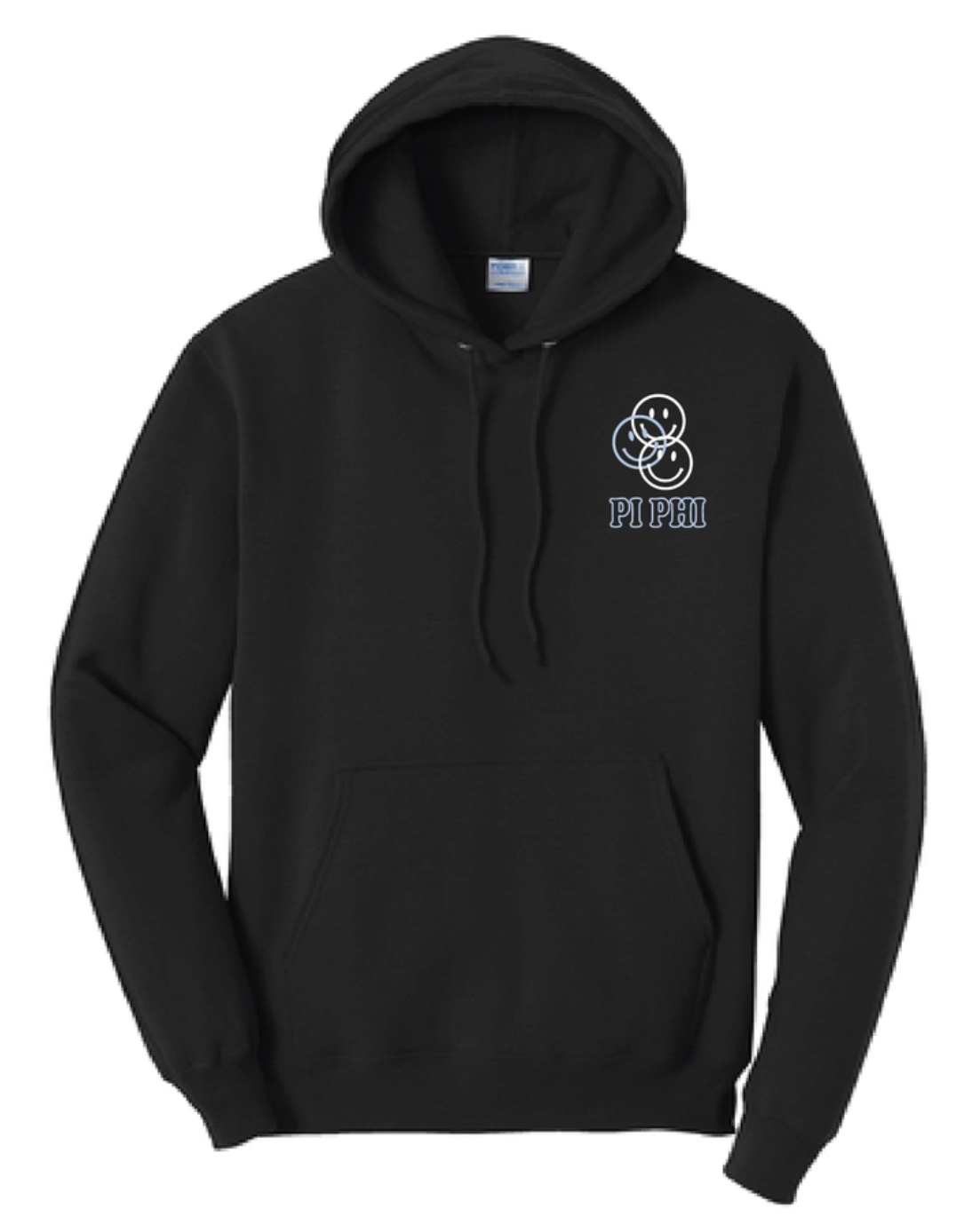 Pi Phi Smiley Face Hoodie