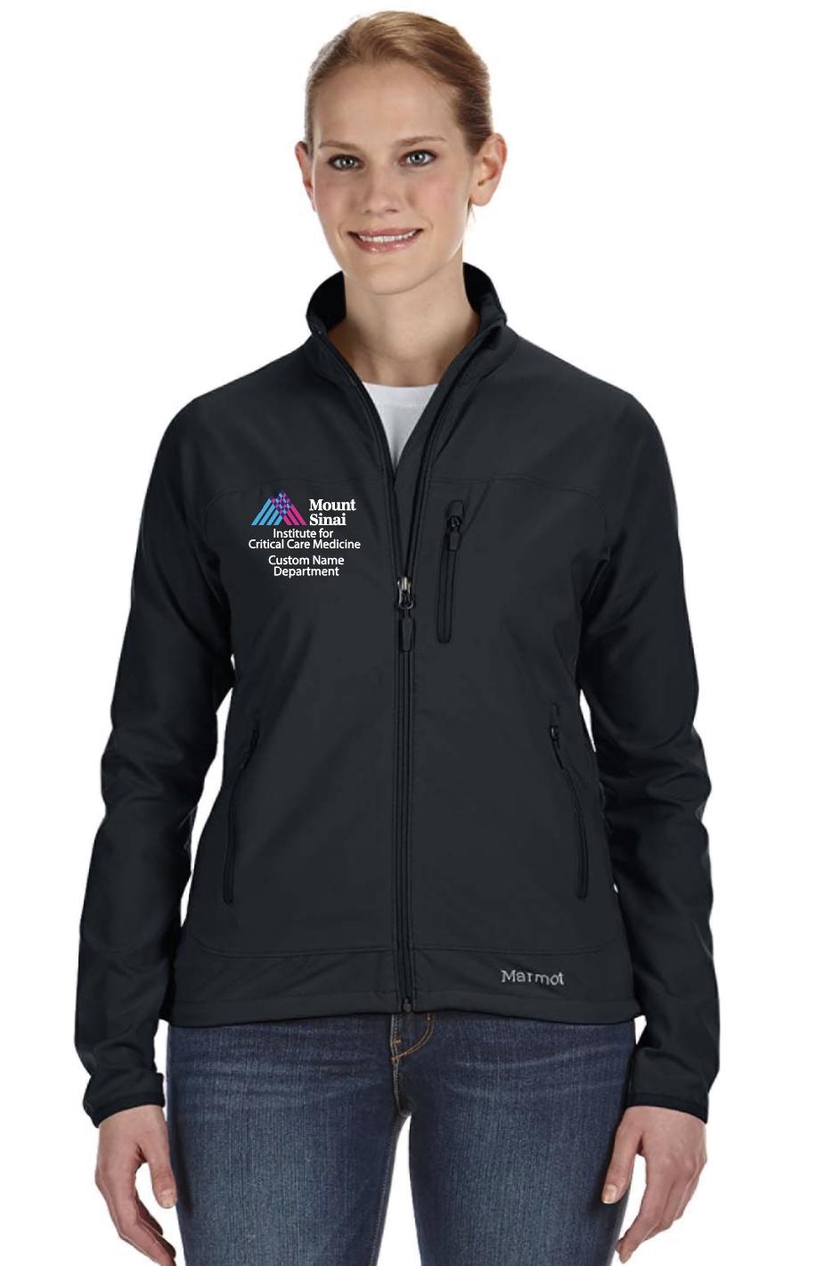 Mount Sinai Institute for Critical Care Medicine Ladies Marmot Tempo Jacket