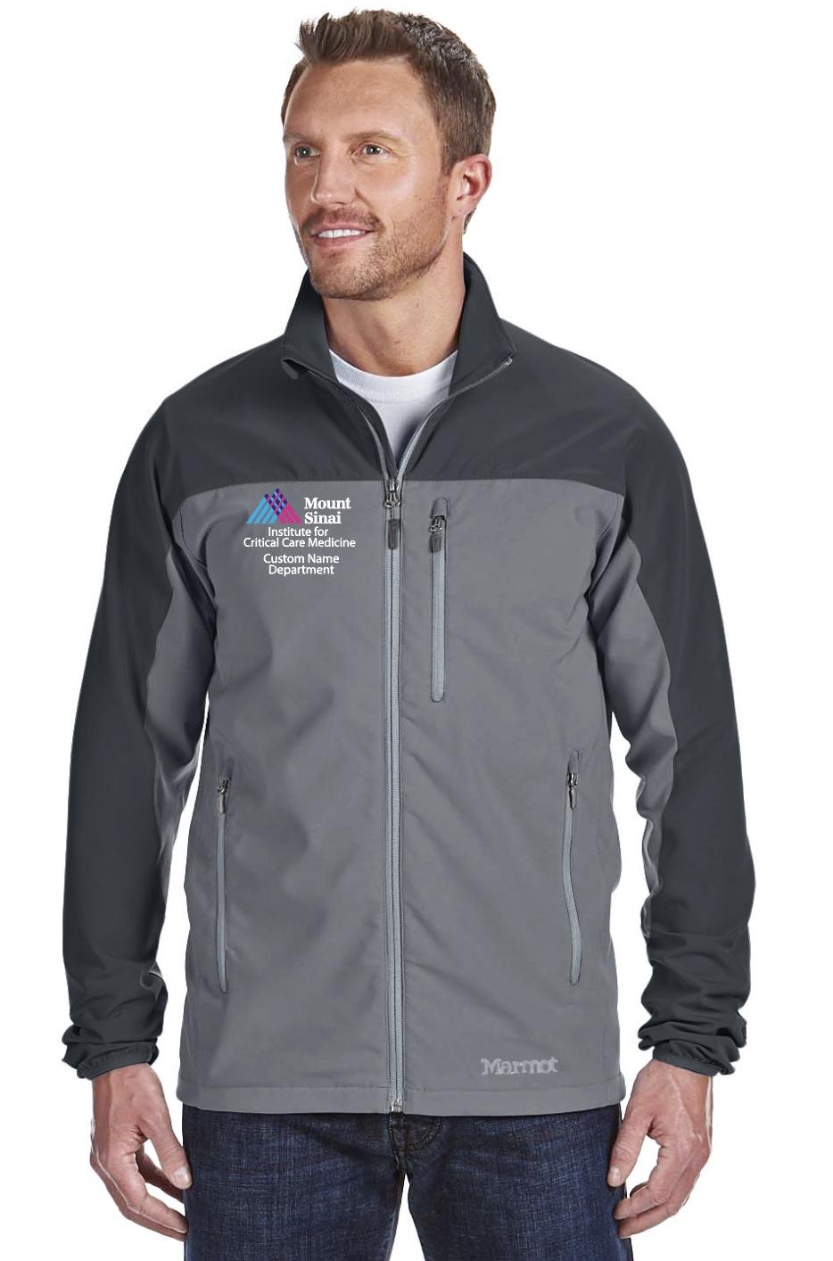 Mount Sinai Institute for Critical Care Medicine Men's Marmot Tempo Jacket
