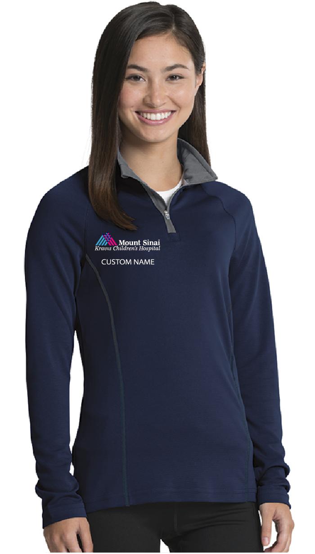 Kravis Children's Hospital Charles River Apparel Ladies Fusion Quarter Zip