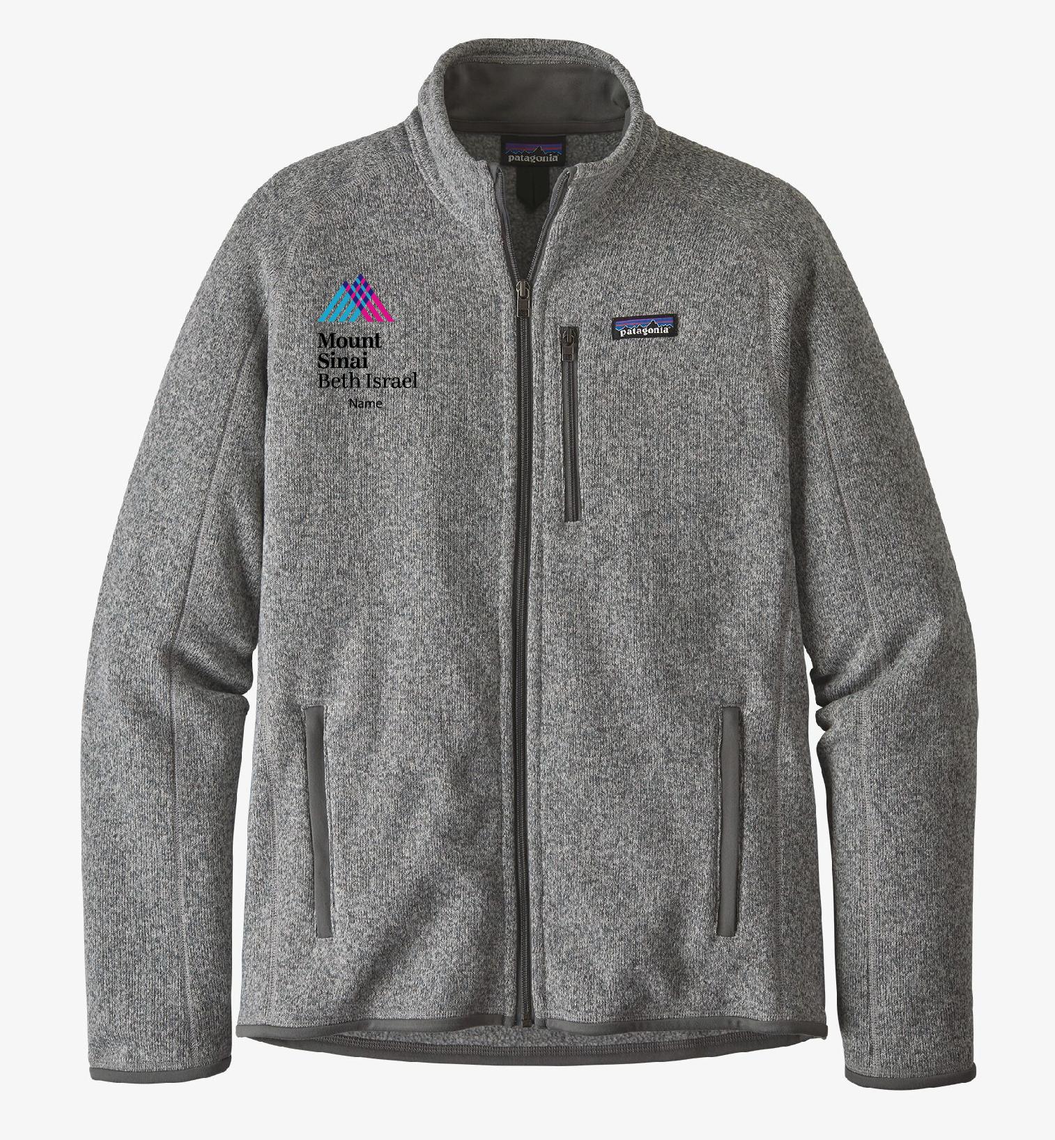 Mount Sinai Beth Israel Men's Patagonia Better Sweater Fleece Jacket