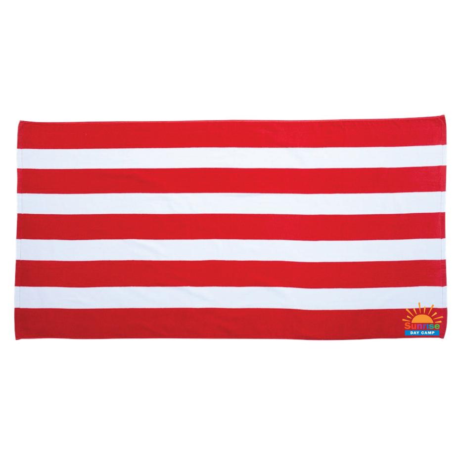 Velour Beach Towel