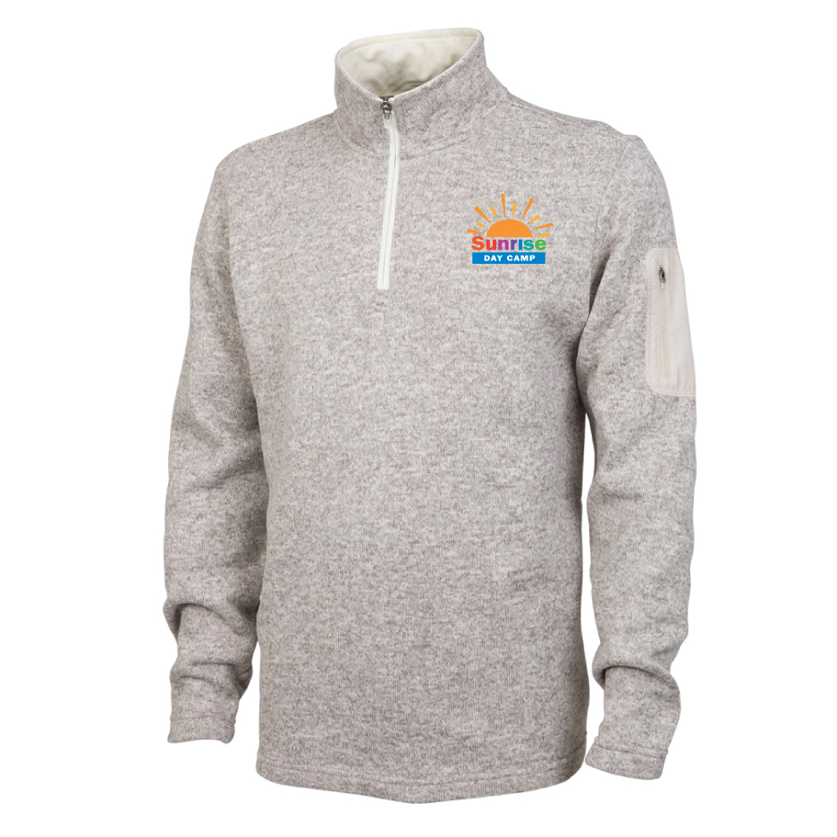 Charles River Heathered Fleece Pullover