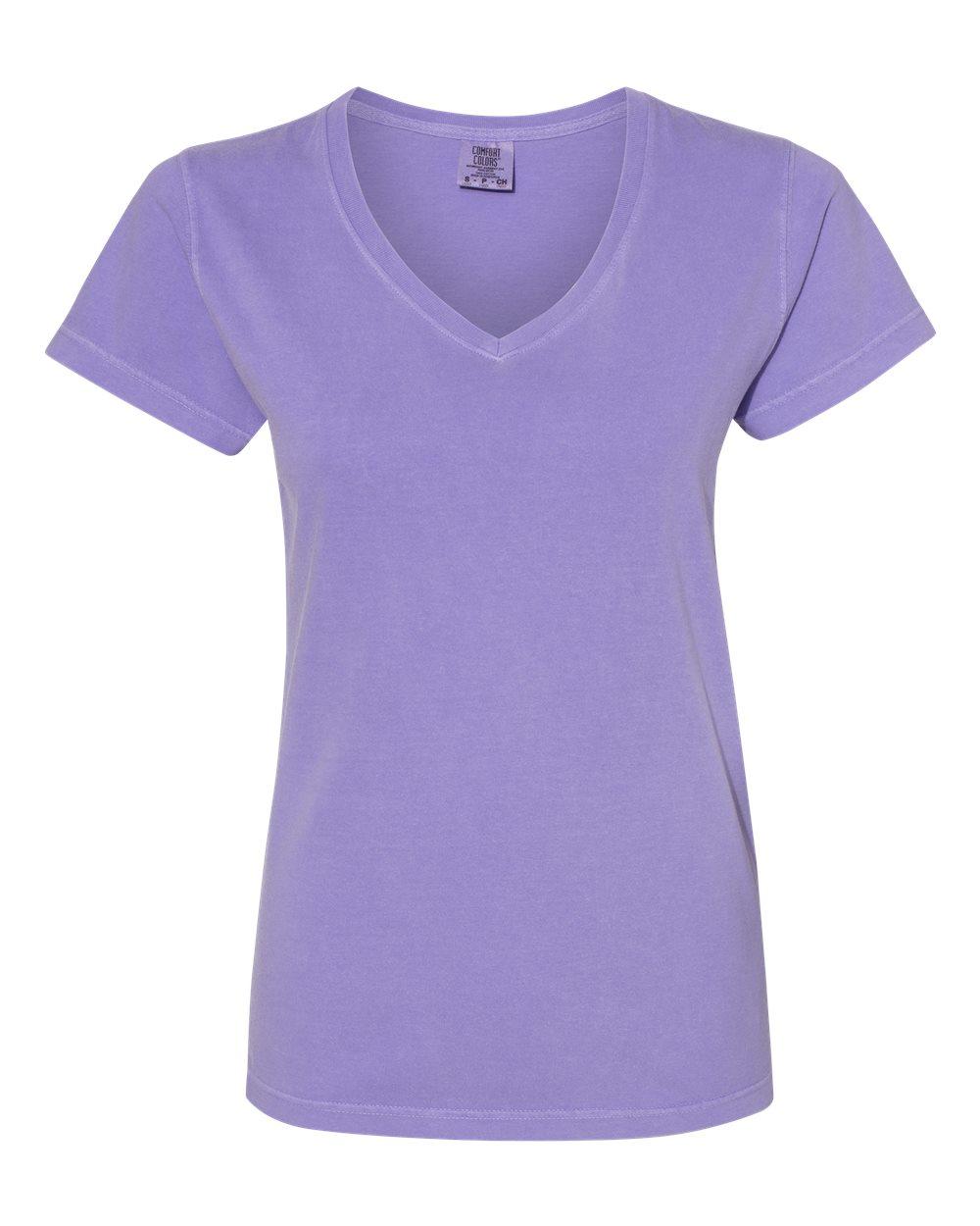 Comfort Colors Ladies  V-Neck